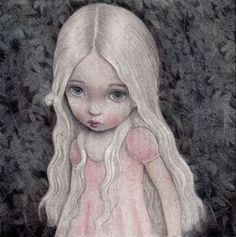 Eleonora Graphite & watercolours on paper. Available through auction here: http://splashurl.com/l8md93e