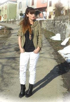CHAINS  , Maison Couchemar in T Shirts, Relish in Jeans, Femblu in Ankle Boots / Booties, 313 in Jackets, Jo Ventura in Jewelry