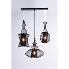 Retro hanglamp Swing Iron 3