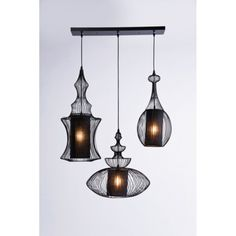 Retro hanglamp Swing Iron 3