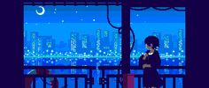 More Retro Style GIFs Show Modern Japan