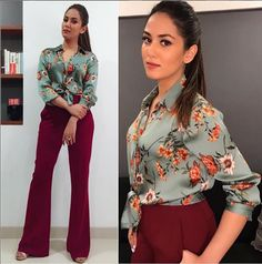 Photo: Mira Rajput looked uber-stylish at Farah Khan's bash for Ed Sheeran Mira Rajput, Girl Fashion, Fashion Dresses, Kurti Designs Party Wear, College Fashion, College Style, Polished Look, Bollywood Celebrities, Cotton Dresses