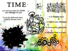 Visible Image - Somewhere In Time - Clear Polymer Stamp Set