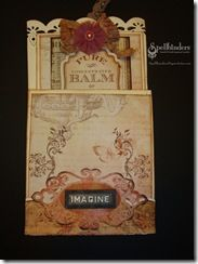Spellbinders Paper Arts - Community - Blog - View Post - Astrid Maclean Friendship Tag and Holder