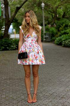 Skater + floral.