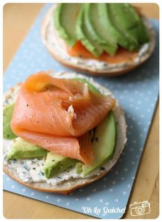 Bagel Saumon Avocat