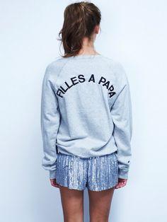 Filles à Papa: 'Daddy's Girls' #Sweatshirt #Daddys_Girls