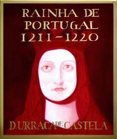Rainha de Portugal, filha de D. Afonso VII de Castela, casou em 1208/9 com o  futuro rei de Portugal, D. Afonso II.  O enlace não decorreu de modo pacífico, já que o bispo do Porto, D. Martinho Rodrigues, considerando que os noivos eram primos direitos, recusou-se a participar nas cerimónias e a recebê-los na cidade do Porto, provocando deste modo uma acesa cadeia de lutas entre o clero e o rei. Filhos: Urraca de Castela (1186-1220): Sancho II de Portugal (1209-1248) - (cont.1)