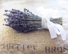 lavender bunch in your closet- not only smells good and looks pretty but also does the same job as Moth Balls