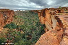 Kings Canyon, Watarrka National Park, Northern Territory, Australia / Michael Boniwell