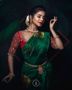 saree blouse, bridal saree, bridal blouse There are different rumors about the annals of the marriage dress; Wedding Saree Blouse Designs, Pattu Saree Blouse Designs, Half Saree Designs, Fancy Blouse Designs, Dress Designs, Bridal Sarees South Indian, Indian Bridal Fashion, Indian Sarees, Blouse Back Neck Designs