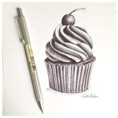 Just pen #drawing - @Isabelle Choi Choi Choi Kessedjian- #webstagram
