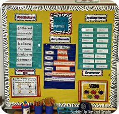 All About Focus Walls by Saddle Up For 2nd Grade