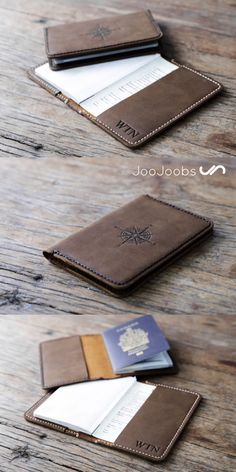 This passport cover is handmade and customized to your exact specifications. Awesome gift idea, especially for the traveller in your life.