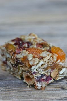 Nuts & Seeds Energy Bars