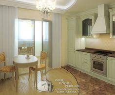Вечная классика в интерьере кухни http://www.decoplus.ru/design_kuhni