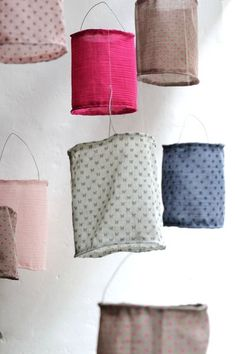 Diy lamp fabric girl rooms 20 ideas for 2019 Luminaria Diy, Diy And Crafts, Arts And Crafts, Diy Bra, Home And Deco, Fabric Crafts, Craft Projects, Kids Room, Diys