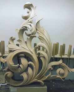 Best Woodworking Projects - Wood Carving You are in the right place about Best Woodworking Projects Tattoo Design And Style Gall - Wood Carving Designs, Wood Carving Art, Wood Art, Wood Carvings, Sculpture Art, Sculptures, Filigree Tattoo, Arabesque, Wood Design
