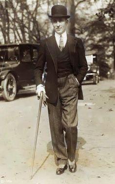 Moda - homens anos 20