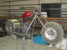 my rototiller is perma broke. The tines are turned by an enclosed chain assy. But the enclosure has rusted out and chain broke. Mini Motorbike, Bobber Motorcycle, Custom Trikes, Custom Motorcycles, Custom Mini Bike, Diy Go Kart, Mini Chopper, Motorised Bike, Drift Trike