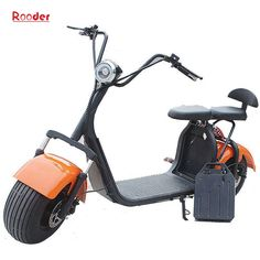 citycoco electric scooter with 60v removable lithium battery and fat tire