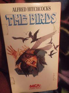 The Birds VHS Alfred Hitchcock OOP 1985 Tippi Hedren Jessica Tandy