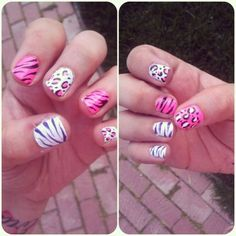107 Animal Print Nails Art To Highlight Your Wild Side - Exquisite Girl