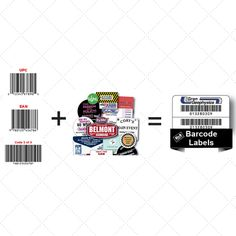 Barcodes + Labels = Our Favorites Into One