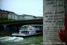 """Wiener Fotomarathon 2013 - Thema """"Abschied"""". Wie wahr, wie wahr. Ob der Abschied dann noch mittels Schifffahrt erfolgt... Marathon, Photos, Going Away, Marathons"""