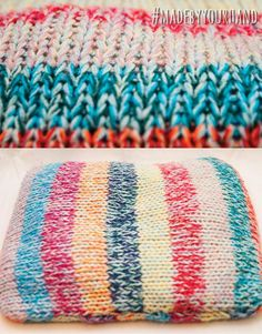 Stripe Spring Cushion @Madebyyourhand
