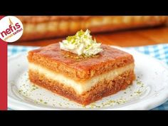 Greek Recipes, Soup Recipes, Dessert Recipes, Yummy Recipes, Iftar, Dessert Bars, Cheesecakes, Deserts, Food And Drink