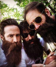 True friends grow matching beards                                                                                                                                                                                 More