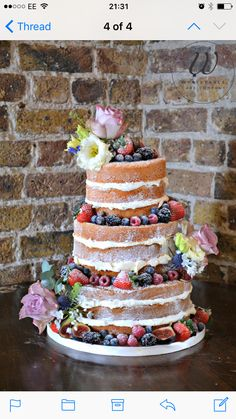 Just ordered for the big day! £250 The Whitstable Cake Co.