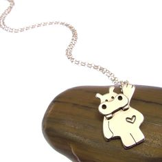 Sterling Silver Hanging Hippo Necklace with Tiny Heart - Hippo Jewellery - Hippo Gifts - Hippopotamus by JewelleryFurKeeps on Etsy https://www.etsy.com/listing/244427071/sterling-silver-hanging-hippo-necklace