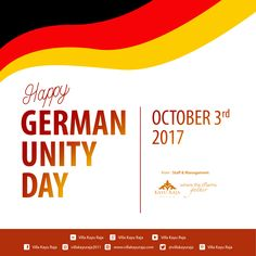 Happy German Unity Day October 03, 2017 . from Staff & Management Villa Kayu Raja . www.villakayuraja.com . #germany #unityday #wonderfulindonesia #villakayuraja #seminyakvilla #seminyakbalivillas #earlybird #lastminute #boxing #deal #honeymooninbali #balivilla #bali #cashbackpromotion #balipromotion #balihoteliers #holidayinbali #luxuryvilla #privatepoolvilla #travelling #september #balivilla #cashback #discount