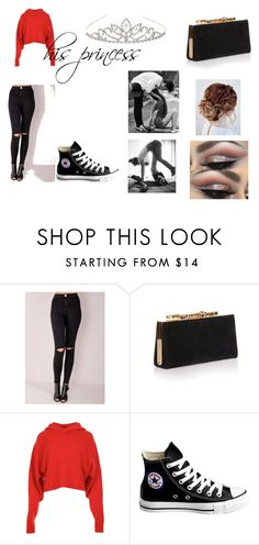 """""""his princess"""" by unicornprincess0319 on Polyvore featuring Jimmy Choo, TIBI, Converse and Accessorize"""