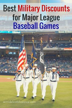 Best Military Discounts for Major League Baseball Games. Just in time for baseball season!