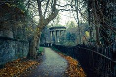 Autumnal path.by Davey Currie (On Deviant Art)
