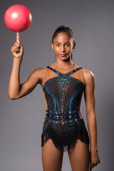 Team USA Rhythmic Gymnast Nastasya Generalova