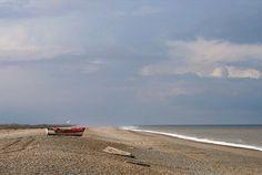 Blakeney Point, North Norfolk, bracing beach holiday memories.