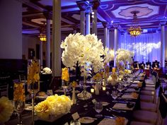 Lighting changes everything. And some beautiful orchids never hurt :) My favorite BZ wedding!