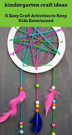 Click on the link to learn more kindergarten craft ideas Crafts For Kids To Make, Crafts For Teens, Projects For Kids, Fun Crafts, Diy And Crafts, Craft Projects, Craft Ideas, Kids Diy, Paper Plate Crafts For Kids