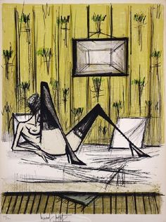 Bernard BUFFET/Jeux de dames Recommended by RAFO, Galleria Morcote & swissartgroup
