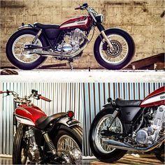 Yamaha SR 400 by Garage9. #yamaha #motorcycle #caferacer #motorsports #megadeluxe #tw
