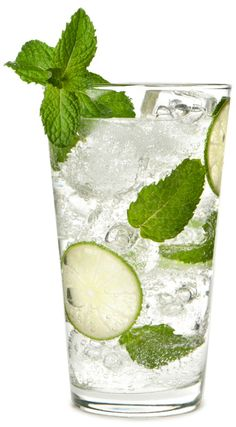 Basil mint mojito - Gonna make this bad boy as soon as I get some Sprite and rum!