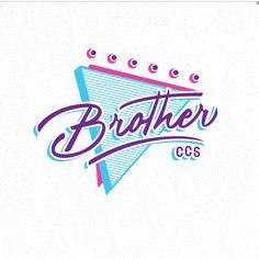 Piece creative design 90´s for print @Brotherccs School Brother Caracas Venezuela
