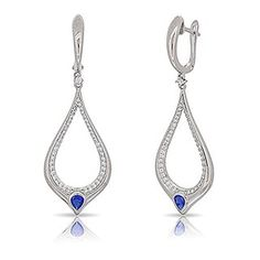 87d658673 Overstock.com: Online Shopping - Bedding, Furniture, Electronics, Jewelry,  Clothing & more. Teardrop EarringsDangle EarringsFree DeliveryBlue ...