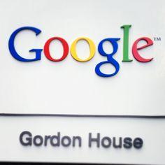 Google Dublin Headquarter Sign from the outside