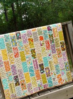 Take your bridesmaid dress from their wedding and make it into a baby quilt for them..