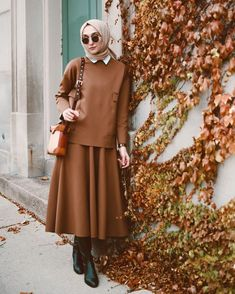 Office Look Hijab Casual – Hijab Fashion 2020 Hijab Casual, Hijab Chic, Hijab Outfit, Muslim Fashion, Modest Fashion, Boho Fashion, Fashion Outfits, Hijab Office, Office Wear